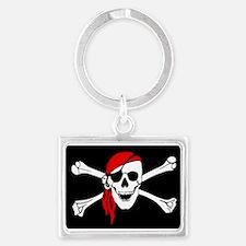 Pirate flag Keychains