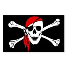 Pirate flag Decal