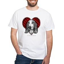 Basset Hound Valentine Shirt