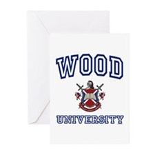 WOOD University Greeting Cards (Pk of 10)