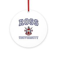 ROSS University Ornament (Round)