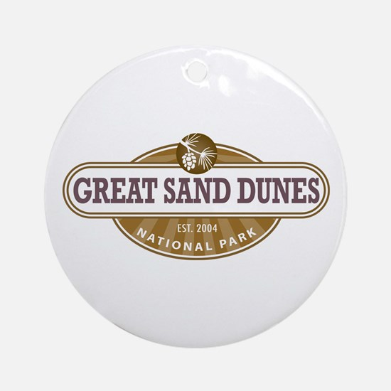 Great Sand Dunes National Park Ornament (Round)