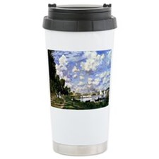 Monet - The Marina at Argenteui Travel Mug