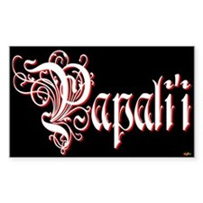 Papali'i Rectangle Decal