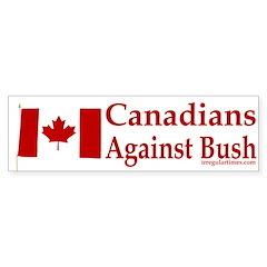 Canadians Against Bush (Sticker)