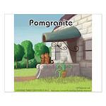 Pomeranian On Granite (Pomgranite) Posters