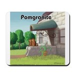 Pomeranian On Granite (Pomgranite) Mousepad