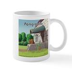 Pomeranian On Granite (Pomgranite) Mugs