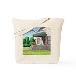 Pomeranian On Granite (Pomgranite) Tote Bag