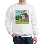 Pomeranian On Granite (Pomgranite) Sweatshirt