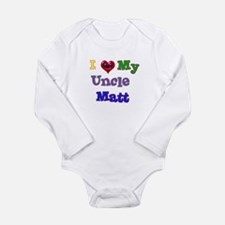 I LOVE MY UNCLE MATT Body Suit
