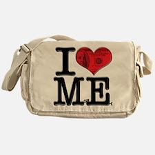 I Love MonEy Messenger Bag