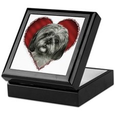 Shih Tzu Valentine Keepsake Box