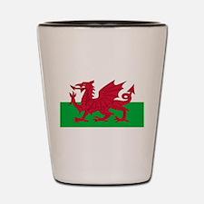 Wales Shot Glass