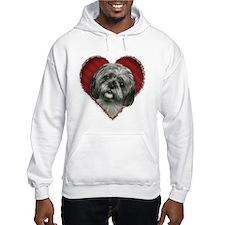 Shih Tzu Valentine Hoodie