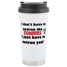 outrun zombies Travel Mug