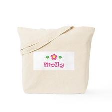 """Pink Daisy - """"Molly"""" Tote Bag"""