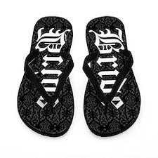 Gothic Bride Flip Flops