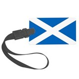 Scotland flag Luggage Tags