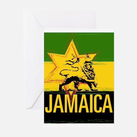 Rasta Love Jamaican Greeting Cards Pack 20