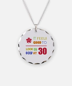 Funny 30th Birthday (Feels Good) Necklace