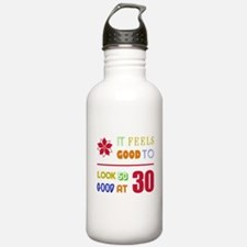 Funny 30th Birthday (Feels Good) Water Bottle