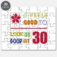 Funny 30th Birthday (Feels Good) Puzzle