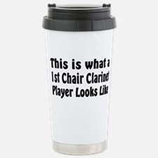 1st Chair Clarinet Stainless Steel Travel Mug