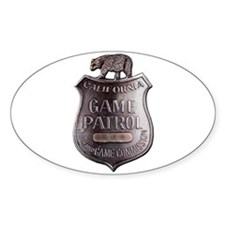 California Game Warden Decal