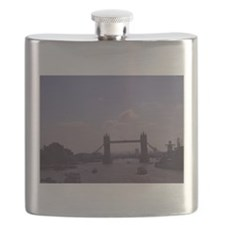London Flask: Tower Bridge And The Thames