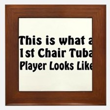 Tuba Master Framed Tile
