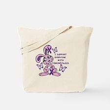 FIBROMYALGIA AWARENESS Tote Bag