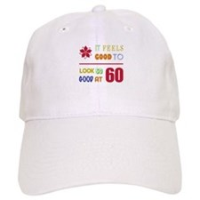 Funny 60th Birthday (Feels Good) Baseball Cap