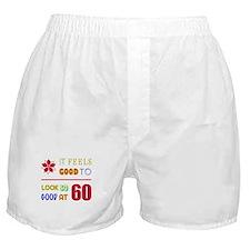 Funny 60th Birthday (Feels Good) Boxer Shorts