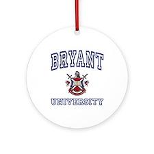 BRYANT University Ornament (Round)