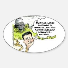 Ted Cruz Slithers Away Decal