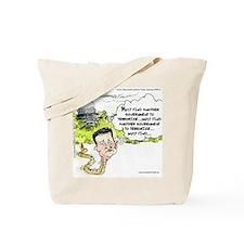 Ted Cruz Slithers Away Tote Bag