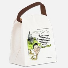 Ted Cruz Slithers Away Canvas Lunch Bag