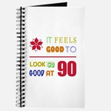 Funny 90th Birthday (Feels Good) Journal