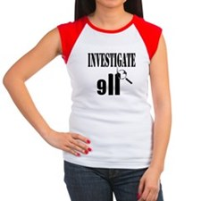 Investigate 9/11 Women's Cap Sleeve T-Shirt
