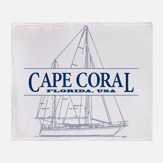 Cape Coral - Throw Blanket