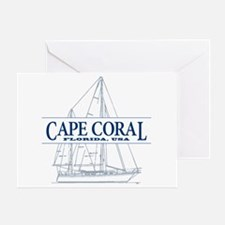 Cape Coral - Greeting Card