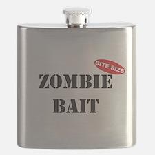 Bite Size Zombie Bait Flask