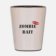 Bite Size Zombie Bait Shot Glass