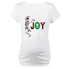 Skeleton Santa - Joy Shirt
