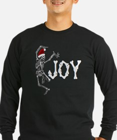 Skeleton Santa - Joy Long Sleeve T-Shirt