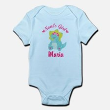 Personalized Nonis Girl Dino Body Suit