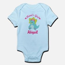Personalized Mimis Girl Dino Body Suit
