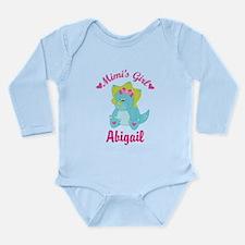 Personalized Mimis Girl Dino Body Suit