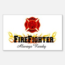 FireFighter Rectangle Decal